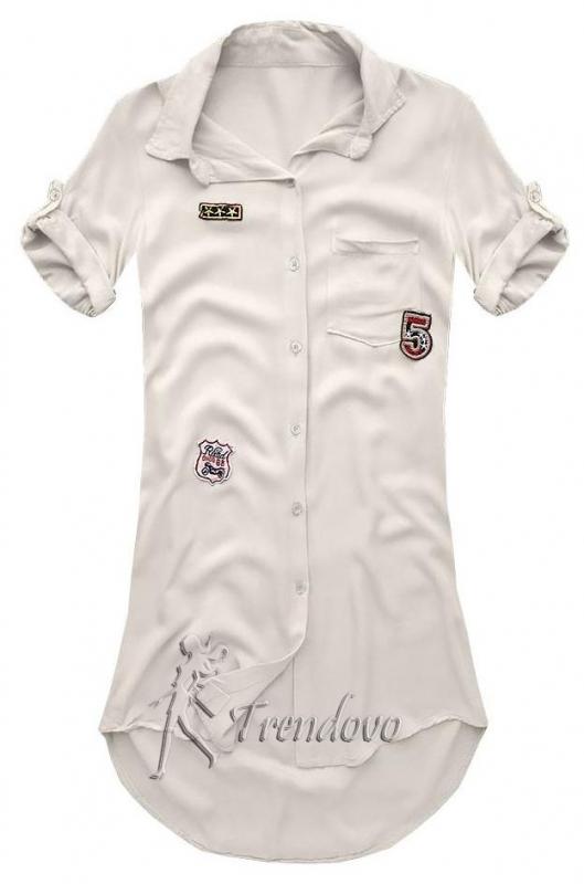 Béžová košile 6233