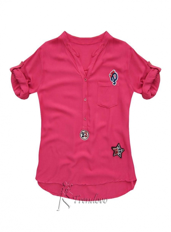 Fuchsiová košile 8850