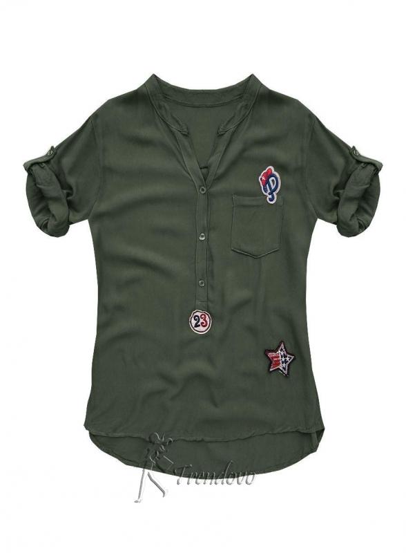 Khaki košile 8850