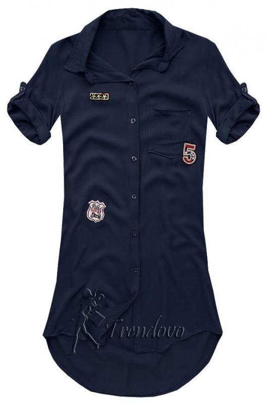 Granátová košile 6233
