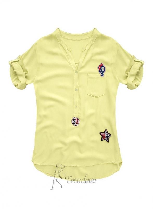 Žlutá košile 8850
