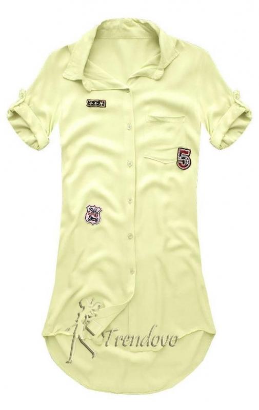 Žlutá košile 6233