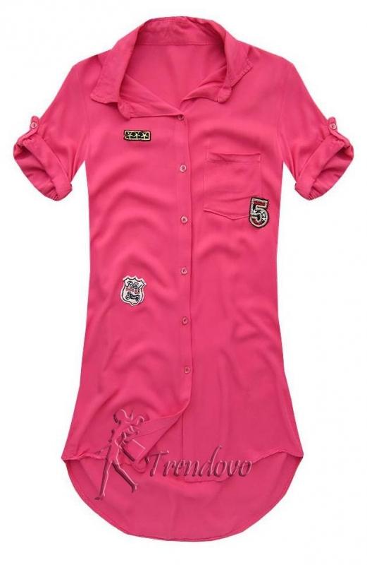 Fuchsiová košile 6233