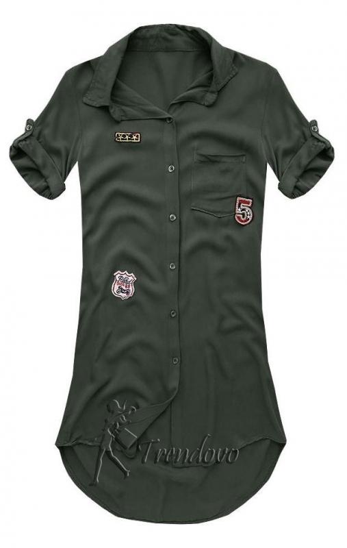 Khaki košile 6233