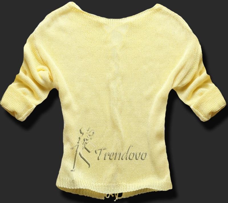 Žlutý svetřík 0123