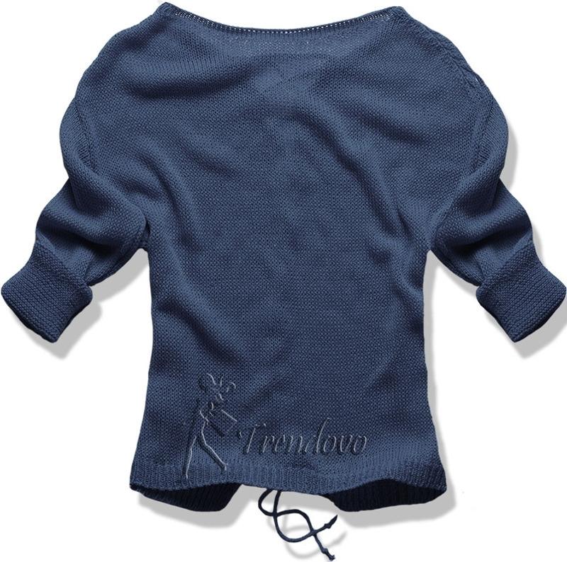 Jeansový svetřík 0123
