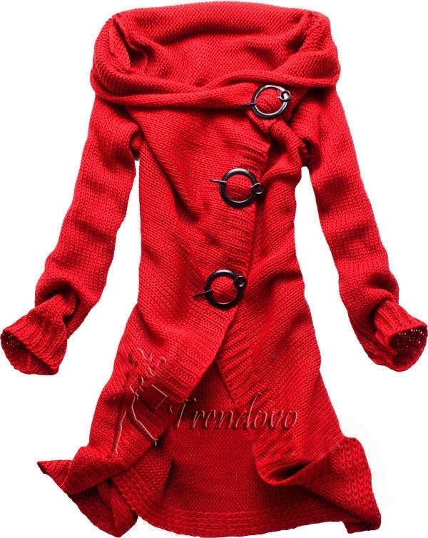 Červený svetr 9876