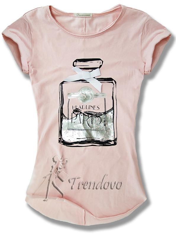 Růžové tričko 57168