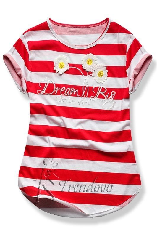 Červené tričko 2144