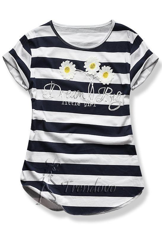Granátové tričko 2144