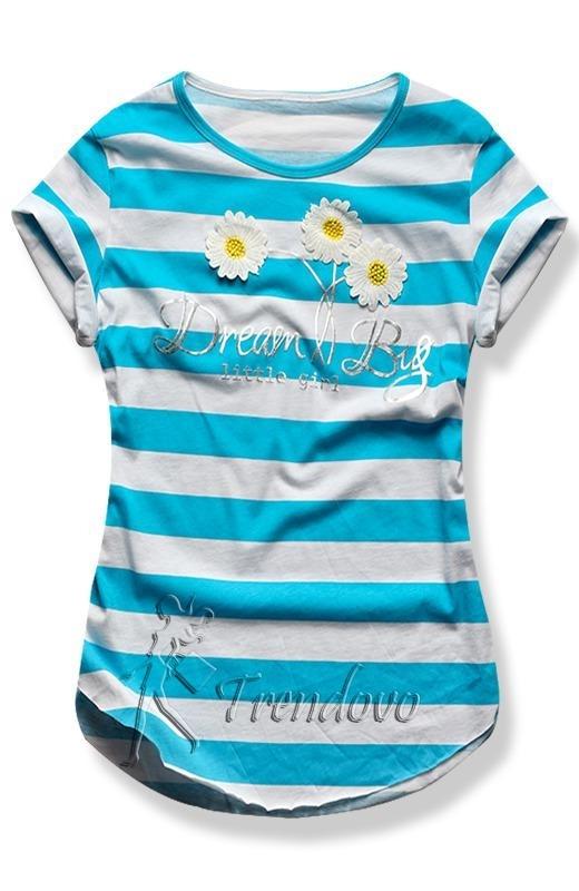 Azurové tričko 2144